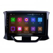OEM Android 10.0 pour 2015 2016-2019 Lada Xray Radio 9 pouces HD écran tactile avec système de navigation GPS Bluetooth Carplay support DSP