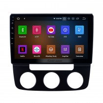 10,1 pouces Android 11.0 Radio de navigation GPS pour 2006-2010 VW Volkswagen Bora Manuel A / C avec écran tactile HD Prise en charge de Bluetooth Carplay 1080P