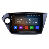 2011 2012 2013 2014 2015 Kia K2 RIO 9 pouces Android 9.0 Système de navigation GPS pour voiture HD Écran tactile Radio AM FM Bluetooth Lien miroir Support CD Lecteur DVD OBD2 3G WiFi