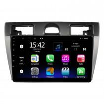 9 pouces Android 10.0 pour 2006-2011 FORD FIESTA Radio système de navigation GPS avec écran tactile HD prise en charge Bluetooth Carplay OBD2