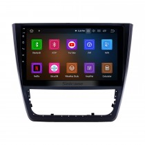 10,1 pouces Android 11.0 Radio pour 2014-2018 Skoda Yeti Bluetooth Écran tactile Navigation GPS Carplay Prise en charge USB TPMS DAB + DVR