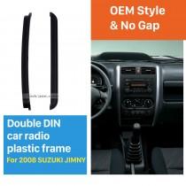 173 * 98/178 * 102mm Double Din 2008 Suzuki Jimmy Car Radio Fascia Lecteur DVD Visage plaque de cadre de montage