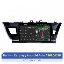 10,1 pouces Android 10.0 HD système de navigation GPS multimédia de voiture à écran tactile pour 2014 Toyota Corolla RHD avec radio Bluetooth Caméra de recul TV USB OBD DVR 4G WIFI