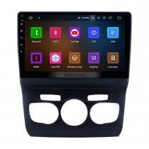 2013 2014 2015 2016 CITROEN C4L LHD 10.1 pouces HD Écran tactile Android 11.0 Radio Bluetooth avec système de navigation GPS Lien miroir Caméra de recul Commande au volant 4G WIFI USB Carplay