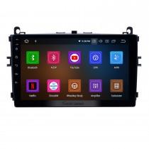 9 pouces Android 11.0 Radio pour 2016-2017 Baic E Série E130 E150 / EV Série EV160 EV200 / Senova D20 Bluetooth HD Écran tactile Navigation GPS soutien Carplay 1080P