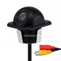 Système d'assistance au stationnement de voiture 170 degrés Haute définition CCD grand angle HD Caméra inversée de sauvegarde avec vision nocturne étanche