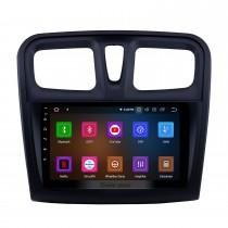 Android 11.0 9 pouces Radio de navigation GPS pour 2012-2017 Renault Sandero avec écran tactile HD Carplay AUX Bluetooth support TV numérique