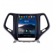 9.7 pouces HD écran tactile 2016 2017 2018 Jeep Cherokee Android 9.1 Radio Navigation GPS Bluetooth Musique USB WIFI Système audio Prise en charge DVR OBD2 TPMS TV numérique