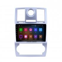 Système de navigation GPS Android 9.0 de 9 pouces pour 2004 2005 2006 2007 2008 Support de Chrysler Aspen 300C Écran tactile HD 1080P 1024 * 600 OBDII Caméra de recul DVR Caméra arrière Lien TV 3G WIFI USB