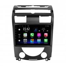 9 pouces Android 10.0 pour 2006-2012 Ssang Yong Rexton Y250 II Radio Système de navigation GPS avec écran tactile HD Prise en charge Bluetooth Carplay OBD2