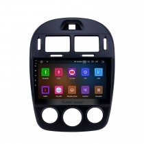 10.1 pouces Android 11.0 Radio pour 2017-2019 Kia Cerato Manuel A / C Bluetooth Wifi HD Écran tactile Navigation GPS Carplay USB support TV numérique TPMS