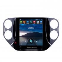 9,7 pouces 2010 2012 2013 2014 2015 2016 VW Volkswagen Tiguan Android 10.0 Radio HD Écran tactile GPS Bluetooth Car Navi System 4G WiFi Mirror Link OBD2 Caméra de recul