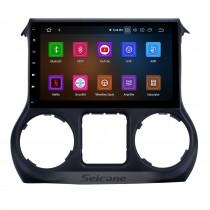 Android 10.0 10.1 pouces 2.5D IPS Radio à écran tactile pour JEEP Wrangler 2011 2012 2013 2014 2015 2016 2017 Bluetooth Musique GPS Navigation Unité principale Support DSP Carplay DAB + OBDII USB TPMS WiFi Commande au volant