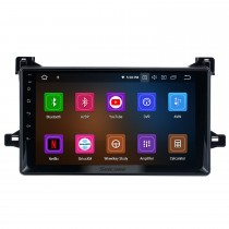 Pour 2016 Toyota Prius Radio 9 pouces Android 11.0 HD écran tactile Bluetooth avec système de navigation GPS prise en charge Carplay 1080P