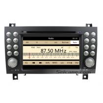 Lecteur DVD de voiture pour Mercedes-Benz SLK avec GPS Radio TV Bluetooth