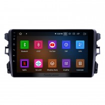 2010-2018 BYD G3 Android 9.0 9 pouces Radio de navigation GPS Bluetooth HD à écran tactile USB Carplay Prise en charge DVR DAB + SWC