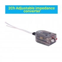 Audio 2Ch Convertisseur d'impédance ajustable