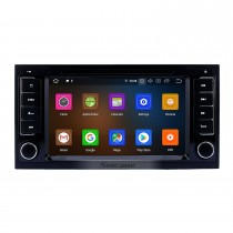 7 pouces Android 9.0 Radio de navigation GPS pour VW Volkswagen 2004-2011 Touareg 2009 T5 Multivan / Transporter avec écran tactile Prise en charge de Carplay Bluetooth 1080P DVR