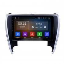 10,1 pouces Android 9.0 Radio de navigation GPS pour 2015 Toyota Camry, version Amérique, Bluetooth HD Touchscreen Carplay support caméra de recul
