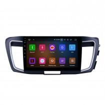 Écran tactile HD 10,1 pouces Android 11.0 pour 2013 HONDA ACCORD RHD Radio Système de navigation GPS Prise en charge Bluetooth Carplay Caméra de recul