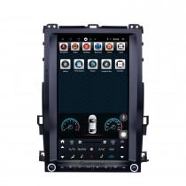 13,6 pouces Android 9.1 pour 2002 2003 2004-2010 Radio Toyota Pardo Navigation GPS avec écran tactile HD Prise en charge Bluetooth Carplay Mirror Link