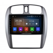 9 pouces Android 10.0 pour 2002-2008 Mazda 323/09 / FAW Haima Preema / Ford Laser Radio Système de navigation GPS avec écran tactile HD Prise en charge Bluetooth Carplay OBD2