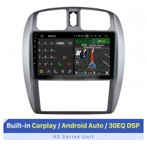 Écran tactile HD de 9 pouces pour 2002-2008 Mazda 323 09 FAW Haima Preema Ford Laser AUTO AC Autoradio Bluetooth Support d'autoradio OBD2