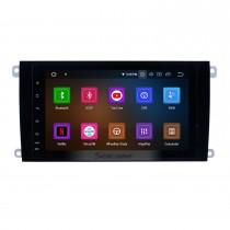 Écran tactile 8 pouces Android 11.0 HD pour 2003 2004 2005-2010 PORSCHE Cayenne avec système de navigation GPS Radio Bluetooth USB WiFi Carplay support TPMS 1080P