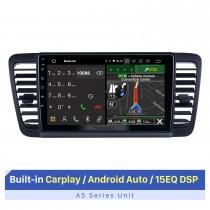 Écran tactile HD de 9 pouces pour 2004-2009 Subaru Legacy Autoradio Autoradio avec autoradio GPS Prise en charge de plusieurs langues OSD