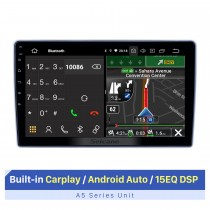 10,1 pouces Android 10.0 Radio de navigation GPS pour Nissan Paladin 2004-2013 avec écran tactile HD Prise en charge Bluetooth Caméra arrière Carplay