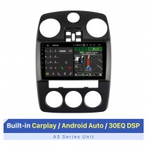 Écran tactile HD de 9 pouces pour 2005-2010 CHRYSLER PT CRUISER Audio de voiture stéréo avec support de réparation d'autoradio GPS caméra AHD