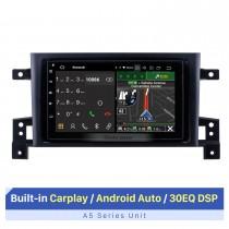 Meilleure radio de navigation GPS de voiture de marché secondaire pour Suzuki Grand Vitara 2005-2021 avec RDS DSP Carplay Support écran tactile Bluetooth AHD Camera