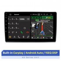 Écran tactile HD de 9 pouces pour 2006+ FIAT BRAVO GPS Navi Réparation d'autoradio Bluetooth Support d'autoradio 1080P Lecteur vidéo