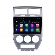 2007 2008 2009 Jeep Compass 10,1 pouces Andriod 10.0 HD Autoradio à écran tactile Système de navigation GPS avec prise en charge Bluetooth Carplay