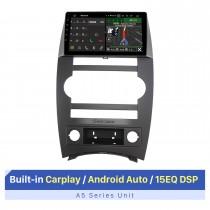 Écran tactile HD de 9 pouces pour 2007-2008 Jeep Commander lecteur DVD de voiture stéréo mise à niveau du support d'autoradio OBD2