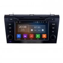 7 pouces Android 10.0 Radio de navigation GPS pour Mazda 3 2007-2009 avec écran tactile HD Support Carplay Bluetooth Caméra arrière TV numérique