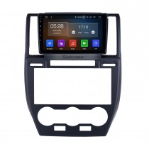 Pour 2007-2010 2011 2012 Land Rover Freelander Radio 9 pouces Android 10.0 HD à écran tactile Bluetooth avec navigation GPS Prise en charge de Carplay 1080p