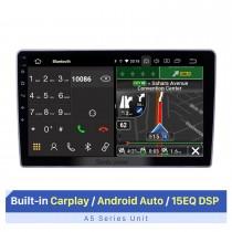 Écran tactile HD de 10,1 pouces pour 2007-2012 Lifan 520 autoradio autostéréo voiture Rradio lecteur DVD prise en charge de l'affichage à écran partagé