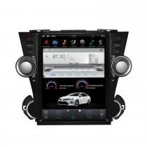 12,1 pouces Android 9.0 lecteur multimédia de voiture stéréo Sat pour 2008-2013 TOYOTA HIGHLANDER système de navigation GPS avec support Bluetooth Carplay