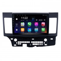 Android 10.0 2008-2015 Mitsubishi Lancer-ex Radio de navigation GPS à écran tactile HD de 10,1 pouces avec FM Bluetooth WIFI USB 1080P Lien miroir vidéo OBD2 Caméra de recul