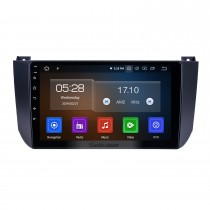 OEM 9 pouces Android 10.0 pour 2009 2010 2011 2012 Changan Alsvin V5 Radio Bluetooth HD Système de navigation GPS à écran tactile Carplay support DVR