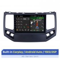 Écran tactile HD de 9 pouces pour système stéréo de voiture Geely King Kong 2009-2010 avec prise en charge Bluetooth OBD2 3G 4G Wifi