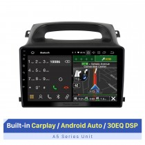 Pour 2009-2012 FOTON Paysage 9 pouces Radio de navigation GPS de voiture avec lecteur vidéo Carplay RDS DSP intégré à écran tactile 1080P