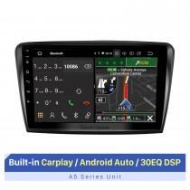 Haute qualité pour 2009-2013 Skoda superbe 10,1 pouces voiture GPS Navigation stéréo avec prise en charge de Carplay sans fil lecteur vidéo Bluetooth 1080 P