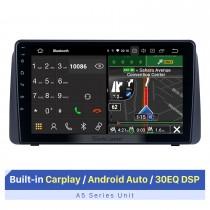 Écran tactile HD de 9 pouces pour 2011 Chrysler Grand Voyager système stéréo de voiture stéréo automatique avec affichage à écran partagé de soutien Bluetooth