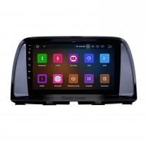 9 pouces OEM Android 11.0 Système de navigation GPS Radio pour 2012 2013 2014 2015 MAZDA CX-5 avec écran tactile capacitif Bluetooth TPMS DVR OBD II Caméra arrière AUX 3G WiFi HD 1080P Vidéo Appui-tête moniteur Contrôle USB SD