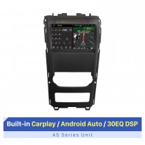 Autoradio Android 9 pouces Bluetooth pour 2012 Mahindra XUV500 avec support WIFI RDS DSP écran tactile GPS Navi Carplay