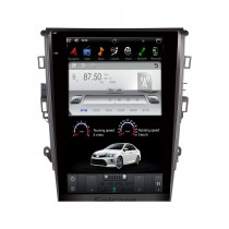 12.1 pouces Android 9.0 autoradio pour 2013+ FORD MONDEO Auto A / C avec radio GPS DVD Bluetooth 3G WiFi Support SWC 3 zones POP System Carplay