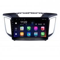 2014 2015 Hyundai IX25 Android 10.0 10,1 pouces HD écran tactile Radio GPS Navi USB Bluetooth WIFI OBD2 Lien miroir Caméra de recul