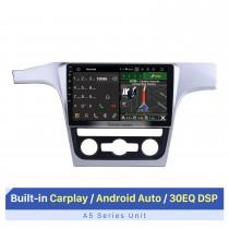 10,1 pouces 2014-2015 VW VolksWagen Passat Android 10.0 dans le tableau de bord Radio Bluetooth voiture système de navigation GPS TV IPhone 3G WiFi USB SD